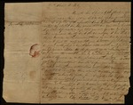 Letter from Socrates Adams to James B. Finley