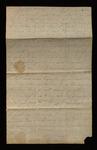Letter from Hannah Barrett to James B. Finley by Hannah Barrett