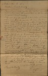 Letter from P. Sprague to James B. Finley