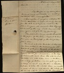 Letter from John Johnston to James B. Finley