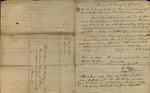 Letter from Christopher Smith, Benjamin Mason & Chris Blackman to James B. Finley