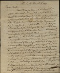Letter from Robert Miller to James B. Finley