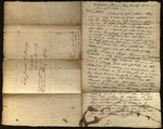 Letter from Joseph Hollinshead & Mary Hollinshead to James B. Finley