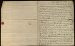 Letter from James Laws & Samuel A. Latta to James B. Finley