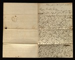 Letter from William D. Barrett to James B. Finley