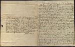 Letter from Joshua Clarke to James B. Finley