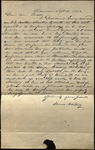 Letter from James Whitney to James B. Finley