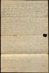 Letter from Francis A. Morrison to James B. Finley