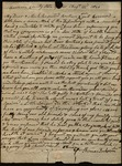 Letter from Thomas Dickerson to James B. Finley