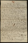Letter from William Porter to James B. Finley