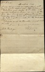 Letter from David Young to James B. Finley