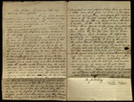 Letter from James B. Brooke to James B. Finley