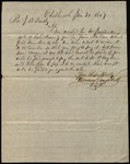 Letter from Denning Campbell to James B. Finley