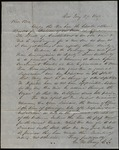 Letter from George M. Young & Samuel F. Cary to James B. Finley