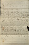 Letter from Watson P. Tripp to James B. Finley