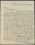 Letter from N.W. Doddridge to George M. Young