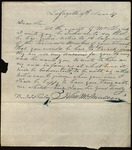 Letter from John McMullen to James B. Finley