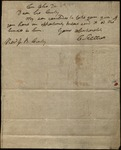 Letter from Charles Elliott to James B. Finley