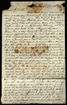 Letter from James B. Brooke & M.F. Brooke to James B. Finley