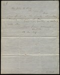 Letter from Charles B. Goddard to James B. Finley