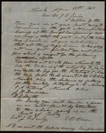Letter from E.B. Chase to James B. Finley