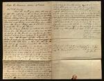 Letter from John G. Parkinson & Joshua Clarke to James B. Finley