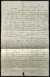 Letter from Samuel Bradford to James B. Finley