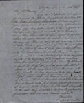 Letter from Moses B. Walker to James B. Finley by Moses B. Walker
