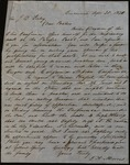 Letter from Thomas A. Morris to James B. Finley by Thomas A. Morris