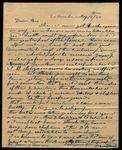 Letter from Samuel Bradford to James B. Finley by Samuel Bradford
