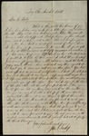 Letter from John S. (J.S.) Inskip to James B. Finley