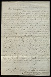 Letter from C.F. Brooke to James B. Finley by C.F. Brooke