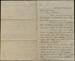 Letter from E.S. Jones to James B. Finley
