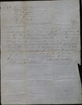 Letter from James Wise to John Bradstreet and others