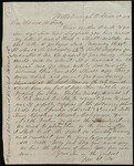 Letter from William Fee to James B. Finley