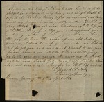 Letter from Ludwig S. Jacoby to James B. Finley