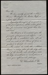 Letter from D. Chamberlain & Co. to James B. Finley