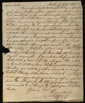 Letter from Thomas Mason to James B. Finley