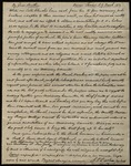 Letter from John Price Durbin to James B. Finley