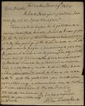 Letter from John Davenport to James B. Finley by John Davenport