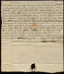 Letter from Isaac Quinn to James B. Finley by Isaac Quinn