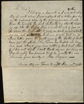 Letter from Thomas McGuire to James B. Finley