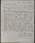 Letter from Leroy Swormstedt to James B. Finley