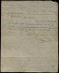 Letter from Henry Howe to James B. Finley by Henry Howe