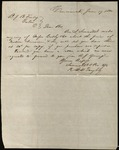 Letter from Swormstedt & Power to James B. Finley