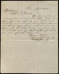 Letter from Swormstedt & Poe to James B. Finley by Swormstedt & Poe