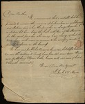 Letter from Joshua F. Soule & T. Mason to James B. Finley