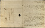 Letter from William McKendree to James B. Finley by William McKendree