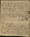 Letter from Hannah Finley & William Strain to James B. Finley