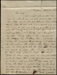 Letter from Julia Finley to James B. Finley
